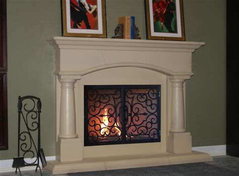fireplace mantels and fireplace surrounds in costa mesa
