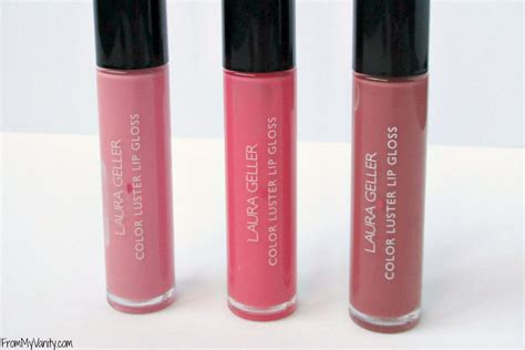 color gloss geller color luster lip gloss review from my vanity
