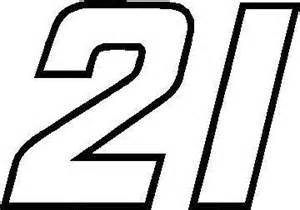 Height Chart Wall Stickers 21 race number outline decal sticker