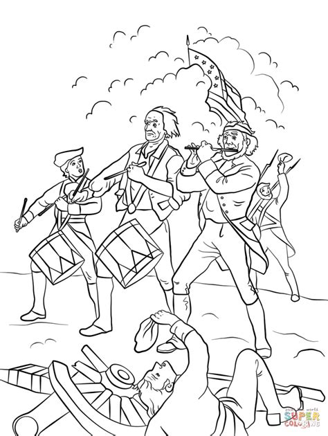 yankee doodle coloring page free printable coloring pages