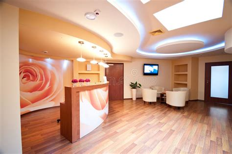 siege social spa spa waiting room stock image image of ntrend