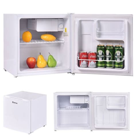 mini fridge and mini refrigerator and freezer fridge 1 8 cu ft compact