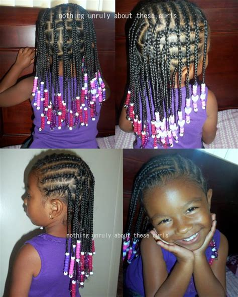 hairstyle with rolls overlaps and braids corn rolls box braids protective hairstyles for little