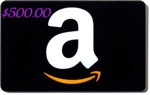 amazon gift card balance 500 giveaway work money fun - My Amazon Gift Card Balance Is Gone