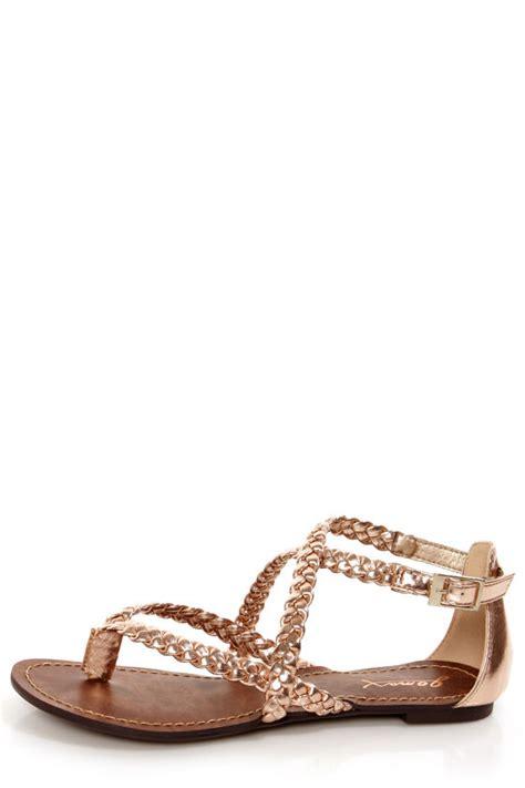 gold metallic sandals gomax berdine 53 gold metallic braided gladiator