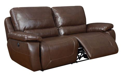 Global Furniture Usa 1027 Power Reclining Sofa Set Leather Power Reclining Sofa Set