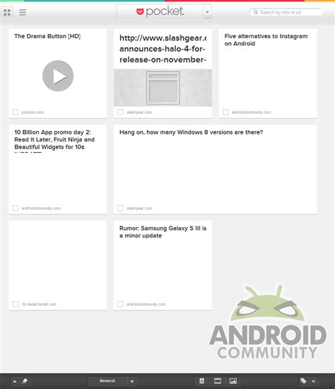 android community read it later is now pocket we go on android community