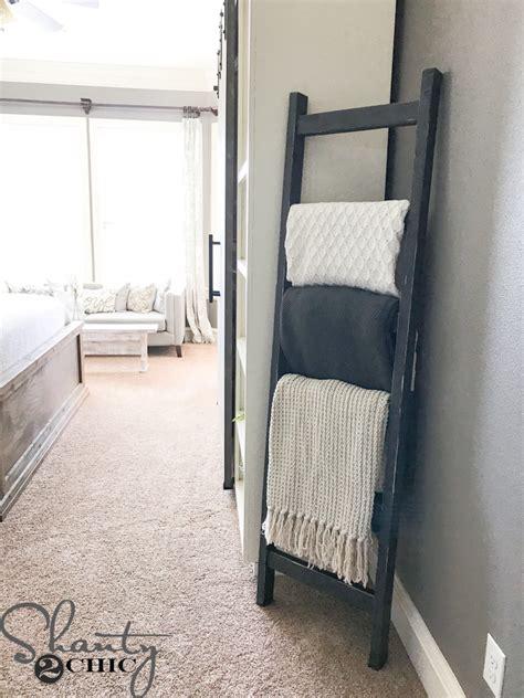 diy 7 rustic blanket ladder shanty 2 chic