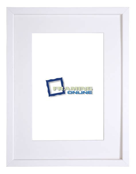 White Frame With Mat by 8 Quot X12 Quot White Frame White Mat 406sw 8 Quot X12 Quot Picture