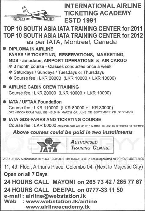 cabin crew courses iata gds fares and ticketing epub