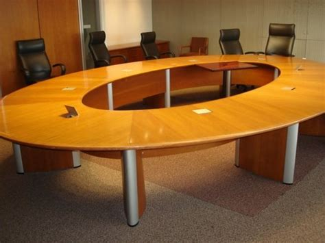 used conference room tables nienker 17 215 12 conference table cubeking