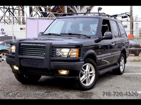 2001 range rover hse 4 6 paul michael s car connection staten island youtube