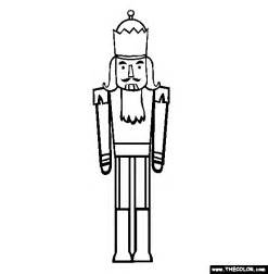 nutcracker template coloring pages page 1