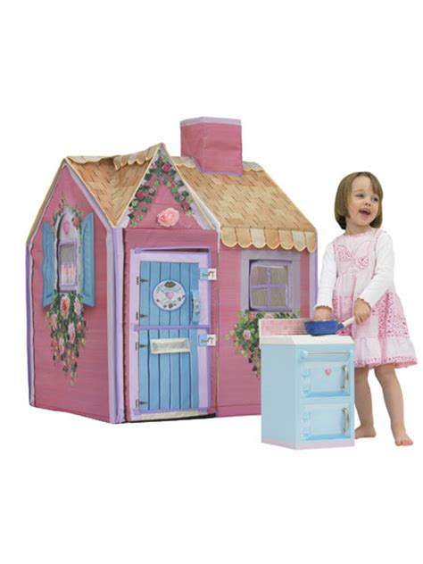 petals cottage town play houses