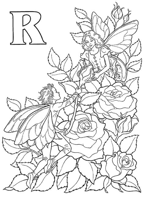 rose coloring sheets 1