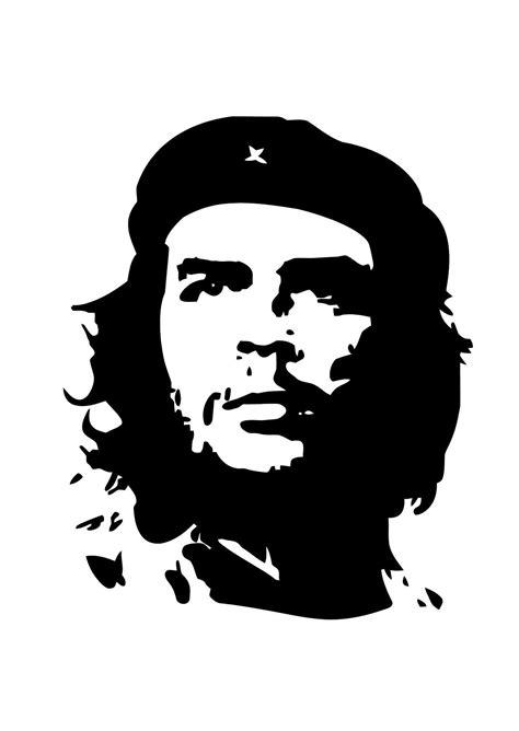 Kleurplaat Che Guevara - Afb 11305.