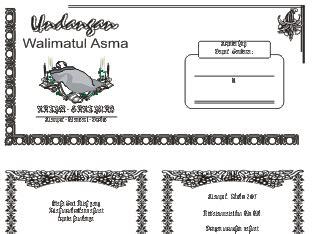contoh format askep asma download undangan gratis desain undangan pernikahan