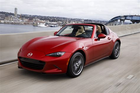 mazda miata hardtop review review mazda mx 5 miata rf the roadster gets a top