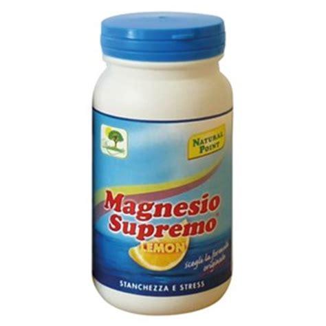 magnesio supremo gravidanza magnesio supremo 174 limone care