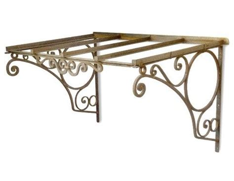 wrought iron awning brackets 41 best canopy wrought iron images on pinterest