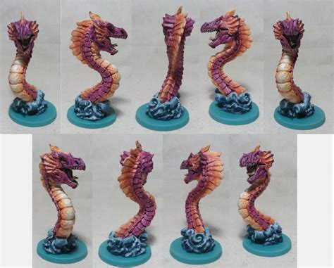 rum first paint sea dragon miniature i painted for the board game rum