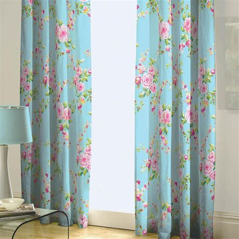 Blue Patterned Curtains Light Blue Patterned Curtains Grcom Info