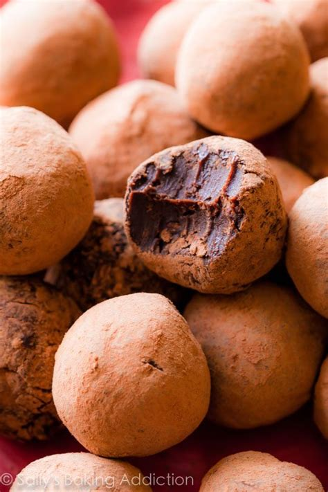 6 Ingredients And Directions Of Chocolate Truffles Receipt by Chocolate Peppermint Truffles 6 Easy