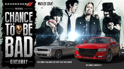 Dodge Sweepstakes - dodge chance to be bad sweepstakes gives you chance to be bad the news wheel