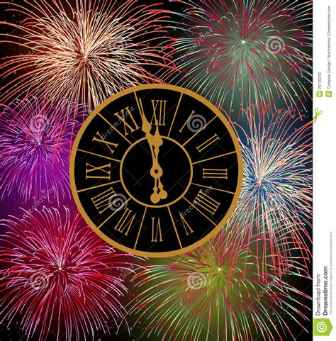 new year fireworks time happy new year fireworks stock photo image 28130270