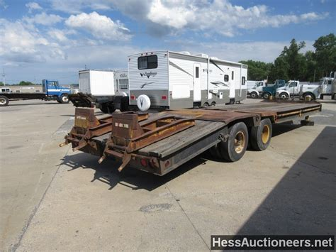flat bed trailers for sale used 1959 fruehauf 20 ton flatbed trailer for sale in pa