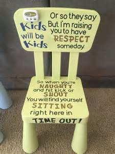 time out chair by krabbycrafter on etsy