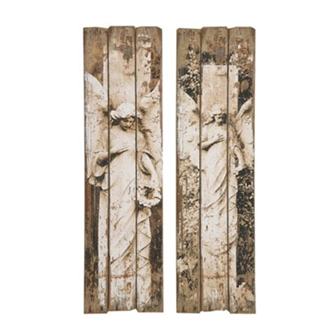 creative wall panels old world angel wall panel art creative co op de7435a