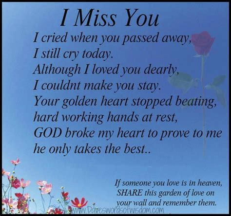 Missing Your Birthday Quotes Heaven Thinking Of You On Your Birthday Son Miss You I