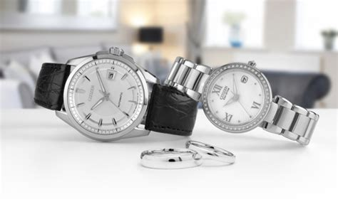 wedding watches citizen signature wedding watches jewelers