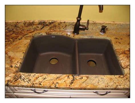 Blanco Cafe Brown Sink by Golden Granite Pictures Golden Granite