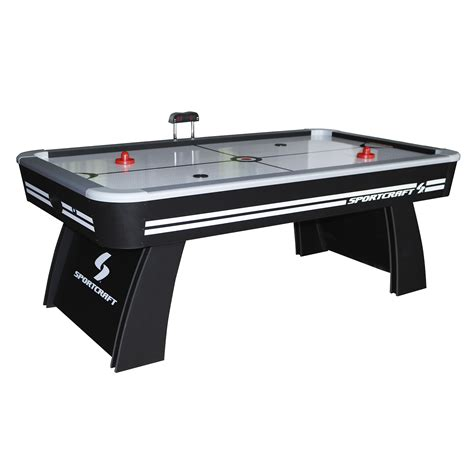 hockey air hockey table sportcraft 7 air hockey table tennis table