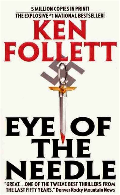 eye of the needle the nick carter carter brown blog eye of the needle by ken follett