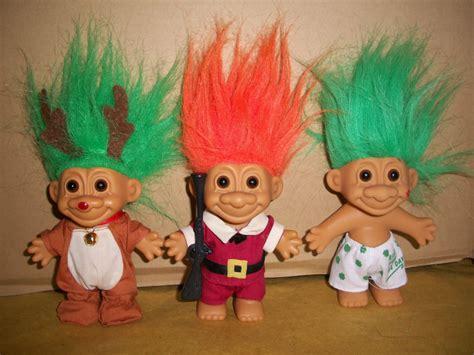 troll for sale troll russ berrie 3 collectible pilgrim reindeer irishman
