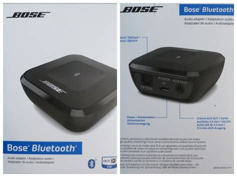 Bluetooth Wireless Companion Transmitter White 1 bose bluetooth wireless audio receiver adapter unboxing review