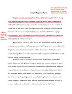 Response Letter To Newspaper Article Write An Effective Response Paper With These Tips Paper Tips And The O Jays
