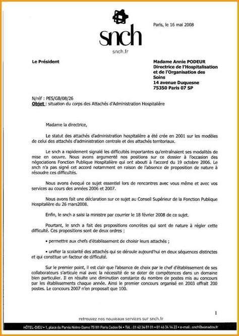 7 modele lettre administrative lettre administrative
