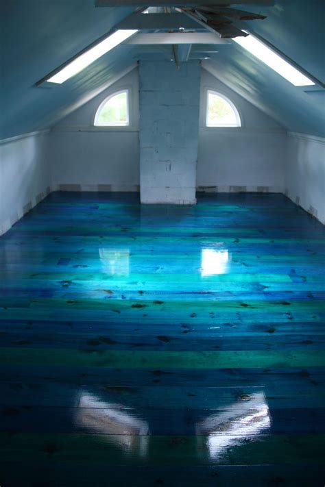 25 best ideas about blue floor on attic loft blue tiles and blue floor paint