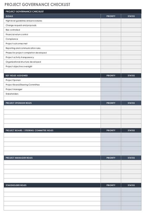project governance template excellent project governance template images