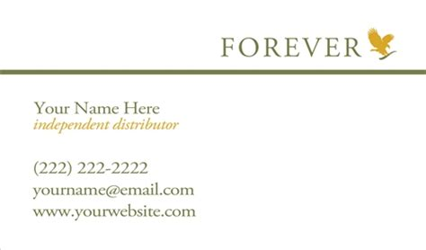 forever living business cards template forever living business card design 1 tank prints