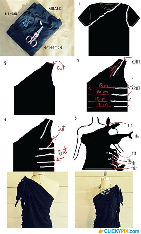 Diy Clothing Ideas by Diy Clothing Refashion Ideas 8 Clicky Pix