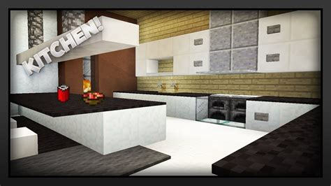 minecraft pocket edition build tutorials episode 2 kitchen youtube within kitchen ideas