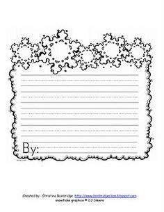 snowflake writing template snow handwriting paper new calendar template site