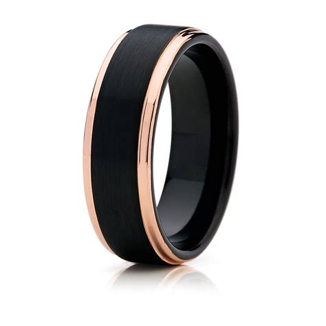 silver black gold wedding rings 2018 popular black and silver s wedding bands
