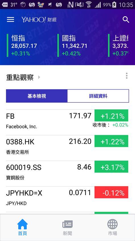 財經 yahoo mobile