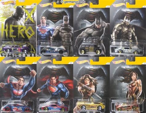 wheels 2016 batman vs superman set 8 autos